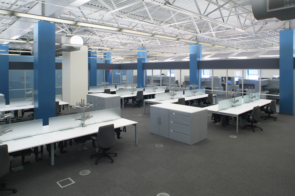 Bombardier Office Space & Testing Lab
